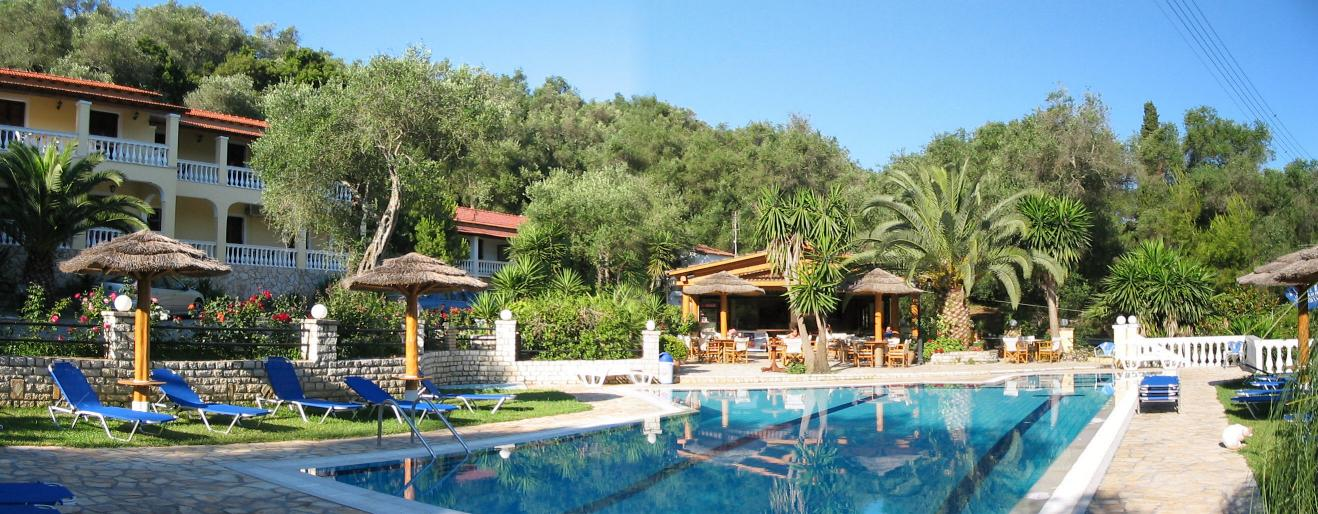 Villa Papoulas Holiday Accommodation Liapades Corfu
